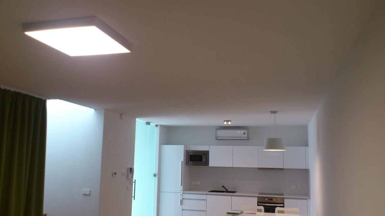 osvětlení celého bytu